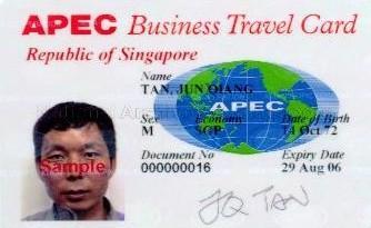 Singapore Implements The Apec Business Travel Card Scheme