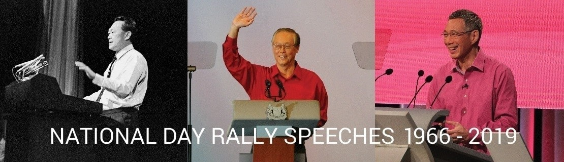 National Day Rally Speeches 1966 - 2019