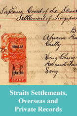 Straits Settlements, Overseas and Private Records