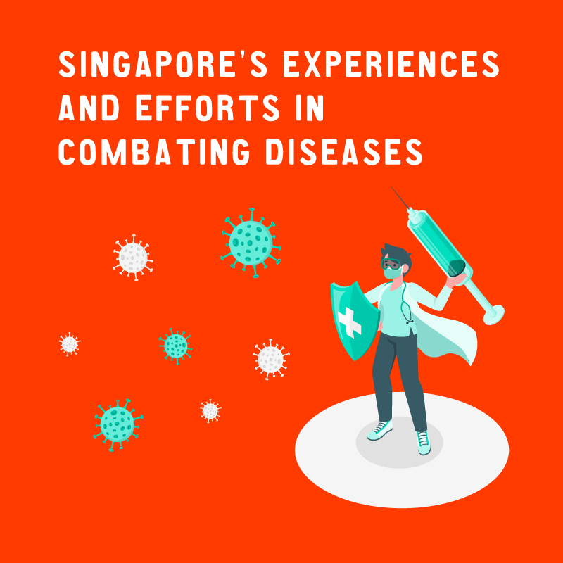 Singapore's Experiences and Efforts in Combating Diseases