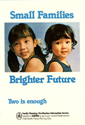 Small Families Brighter Future
