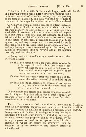 Women's Charter Section 19