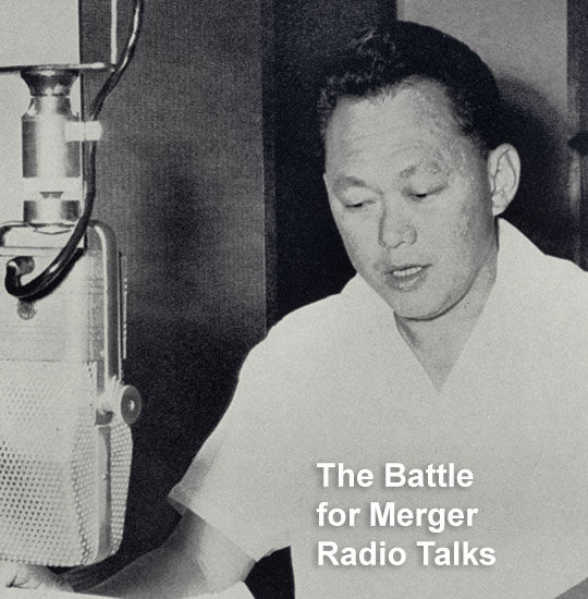 The Battle for Merger Radio Talks