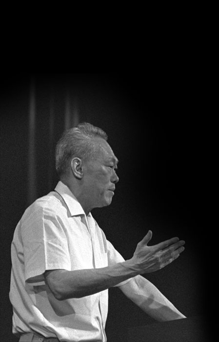 Lee Kuan Yew at National Day Rally
