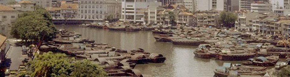 Singapore River from High Street, 01/09/1985