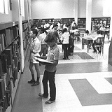 Before The Internet — National Library's Reference Section
