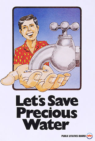 Let's Save Precious Water