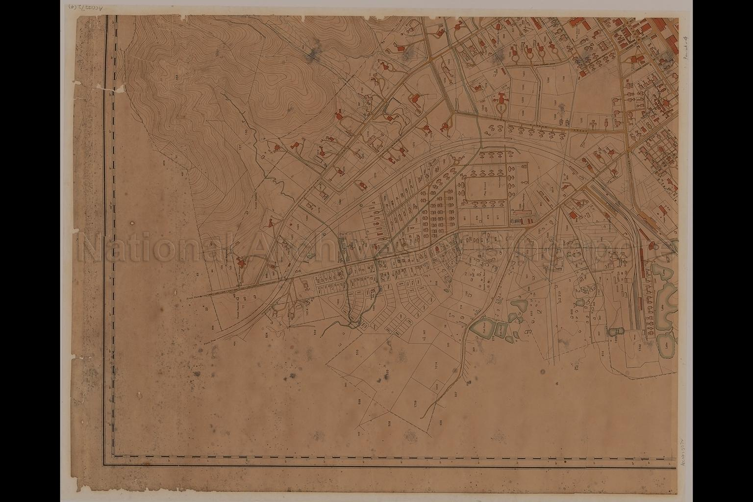 Town of Taiping, Perak, Federated Malay States,1928