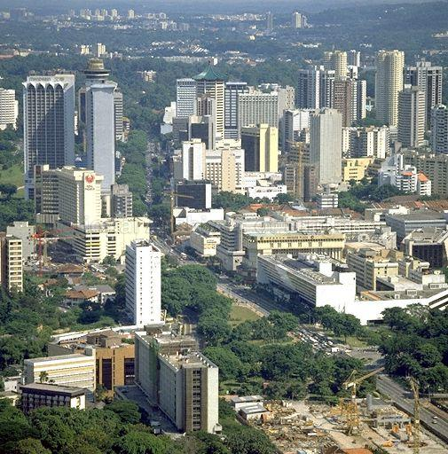 View of Orchard Road