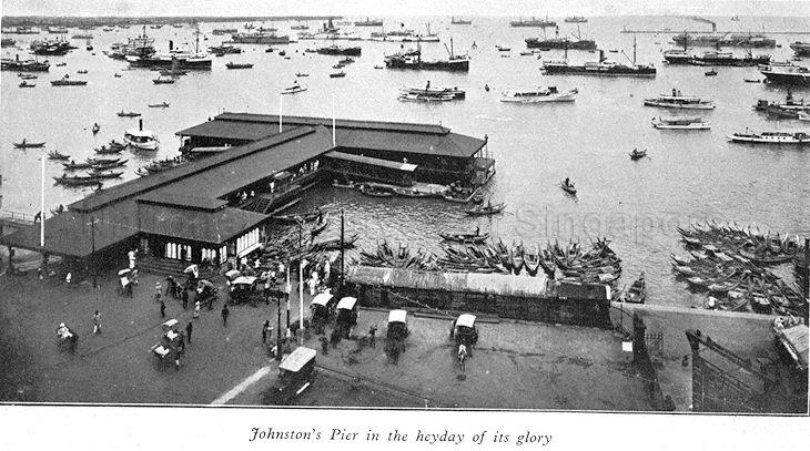 Johnston's Pier in the 1920s. Source: National Archives