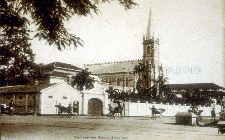 Convent of the Holy Infant Jesus (CHIJ) was a girls' school established at Victoria Street in 1854 by French Catholic nuns. It underwent extensive restoration works and reopened again in 1996 as CHIJMES.