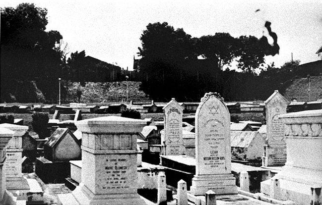 The Jewish Cemetery located to the north of Moulmein Road near the junction of Thomson Road and Newton Road contained burials from 1904 to 1973. In 1985, the cemetery site was cleared to make way for new Novena Mass Rapid Transit (MRT) station.