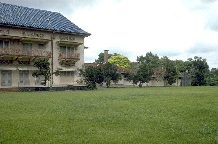 Istana Woodneuk at Tyersall Park, an area bounded by Holland Road and Tyersall Avenue