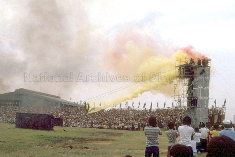 SAF Display '83, in celebration of Armed Forces Day, at West Coast Park