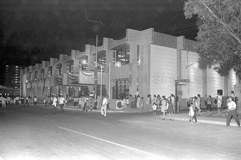 View of Queenstown Branch Library at Margaret Drive which is officially opened by Prime Minister Lee Kuan Yew
