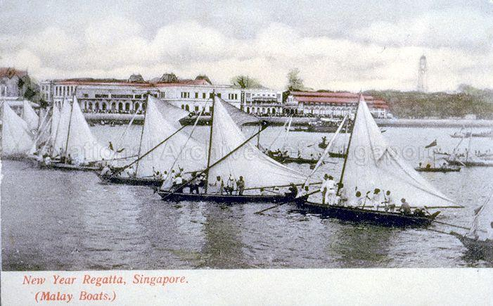 The New Year Regatta, featuring Malay