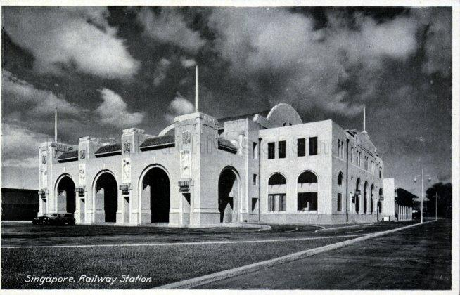 Tanjong Pagar Railway Station at Keppel Road, officially opened by Governor Sir Cecil Clementi on 2 May 1932