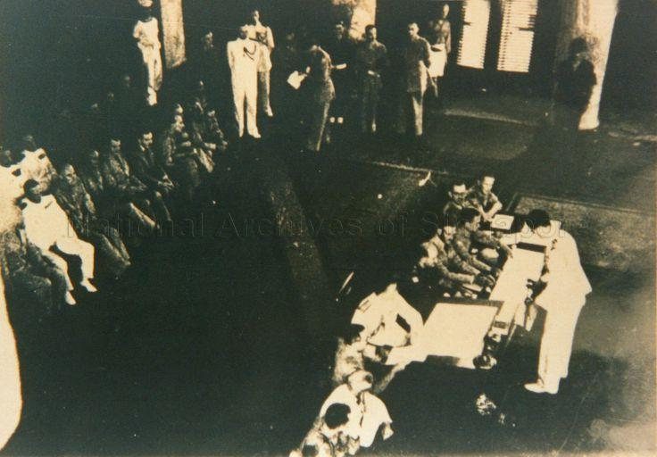 Surrender of the Japanese at the Municipal Building, Singapore