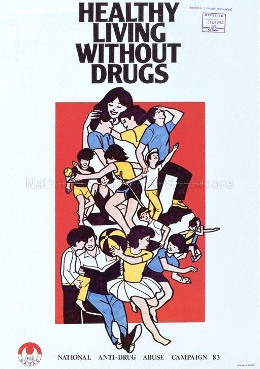 Healthy living without drugs : National Anti-Drug Abuse